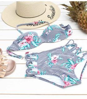 Μαγιό bikini - flower - BS1829