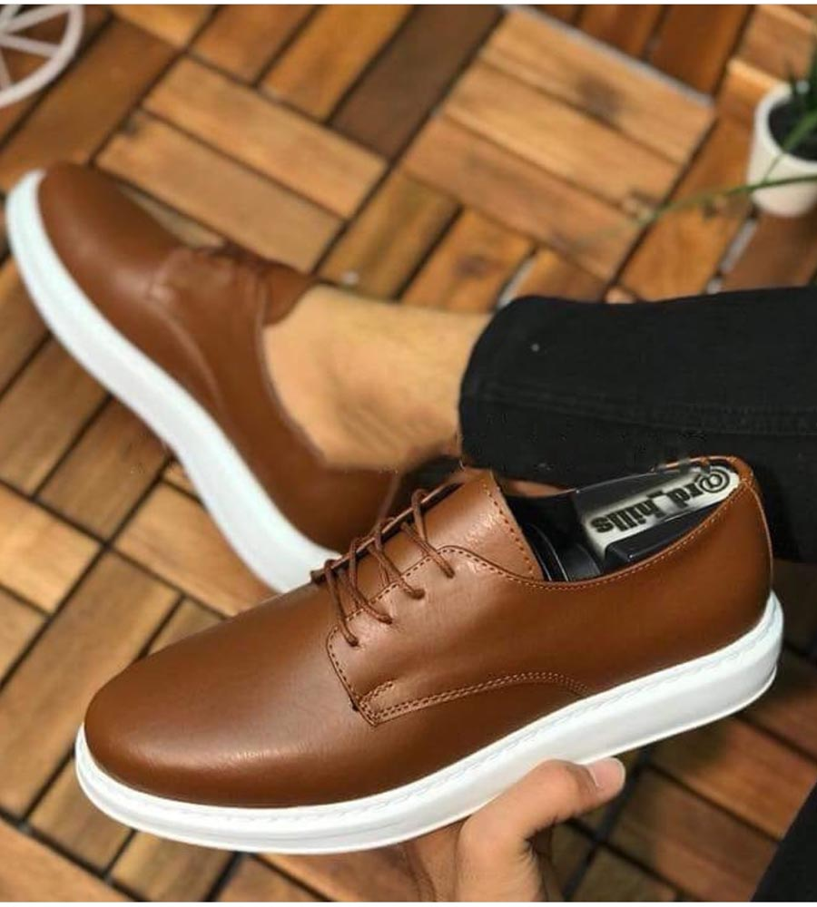 Ανδρικό παπούτσι με κορδόνι C003