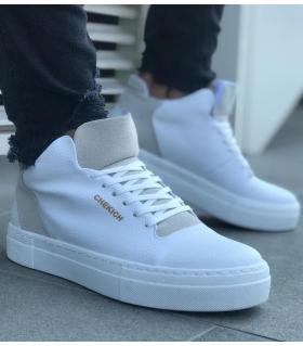 Μποτάκια Sneakers ανδρικά με κορδόνια C004