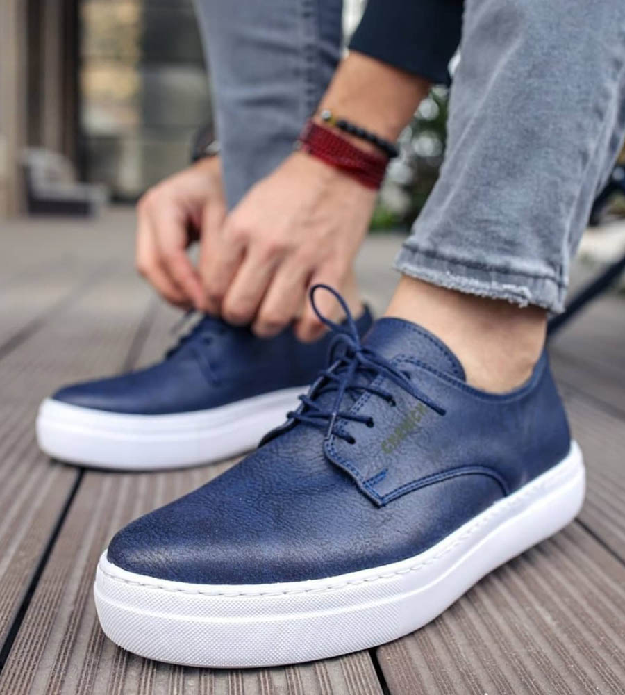 Sneakers ανδρικά κορδόνι C005