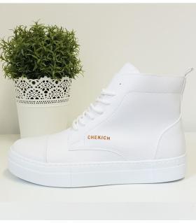 Μποτάκια Sneakers ανδρικά με κορδόνια C029