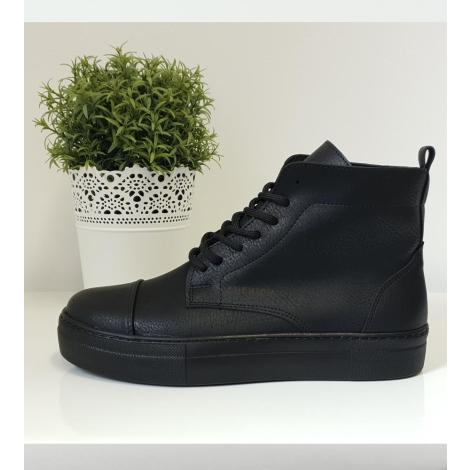 3a0b24752c8 Μποτάκια Sneakers ανδρικά με κορδόνι. Από συνθετικό δέρμα.