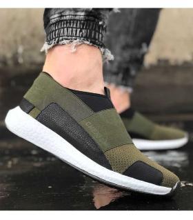 Sneakers ανδρικά λάστιχο C035