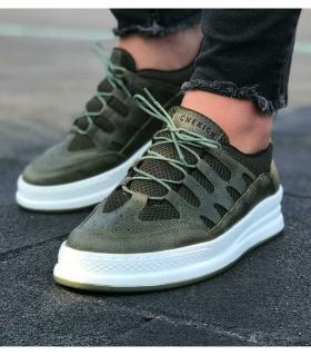 Sneakers ανδρικά κορδόνι C039