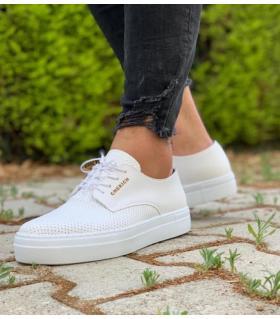 Sneakers ανδρικά κορδόνι C061
