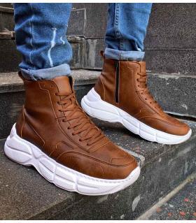Μποτάκια Sneakers ανδρικά double C077