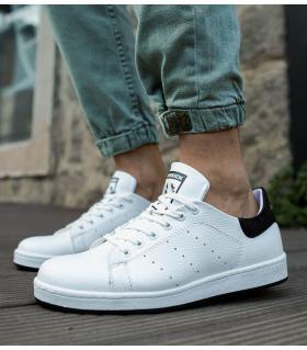 Sneakers ανδρικά με κορδόνι C977