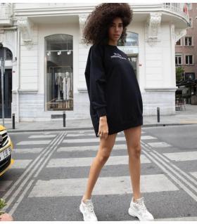 Φόρεμα φούτερ oversized -inspiration- CH010