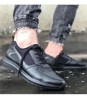 Sneakers ανδρικά κορδόνι C019