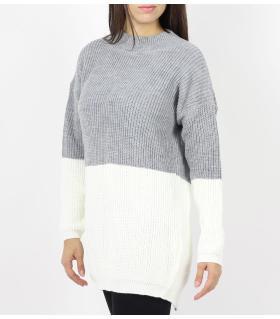 Μπλούζα γυναικεία πλεκτή με άνοιγμα πίσω CH087