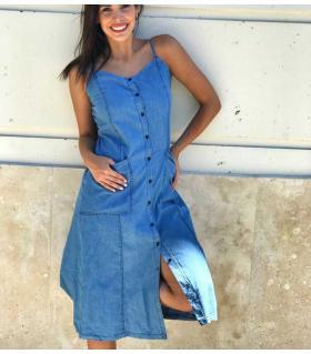 Φόρεμα jean γυναικείο CH3609