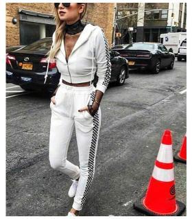 Σετ φόρμας γυναικείο παντελόνι-ζακέτα CH3630