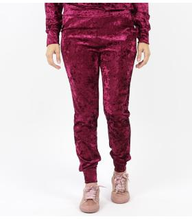 Παντελόνι φόρμα γυναικείο suede D3001