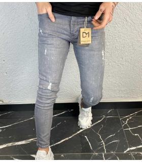 Παντελόνι jean ανδρικό slash DM1358