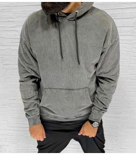 Μπλούζα φούτερ ανδρική με κουκούλα E1057