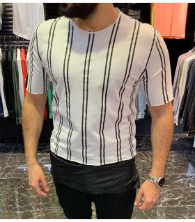 T-shirt ανδρικό ριγέ E4037