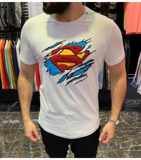 "T-shirt ανδρικό ""Superman"" E4177"