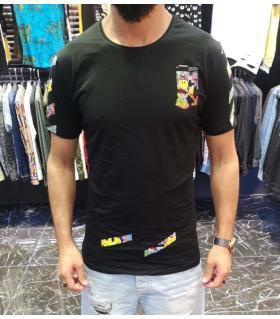 T-shirt ανδρικό -Smiley- E4240