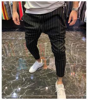 Παντελόνι ανδρικό stripes E4314