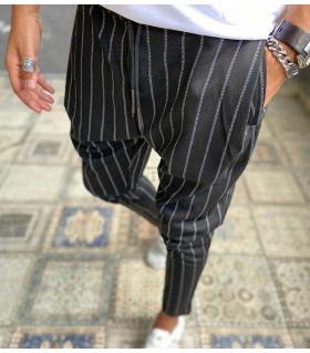 Παντελόνι ανδρικό stripes E4315