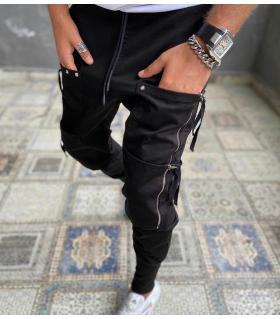 Παντελόνι ανδρικό zips & pockets E4329