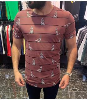 "T-shirt ανδρικό ""Bugs Bunny"" E4382"