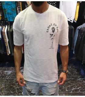 T-shirt ανδρικό -ROSE- E4530