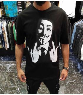 T-shirt ανδρικό -V- E4549