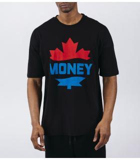 Oversized T-shirt ανδρικό -Money- E5137