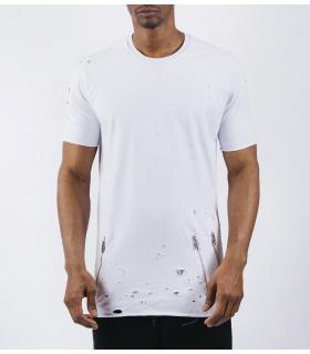 Double T-shirt ανδρικό damaged E5144