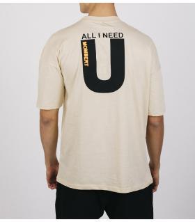 Oversized T-shirt ανδρικό -Need U- E5180