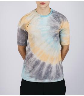 Oversized T-shirt ανδρικό colourfull E5194