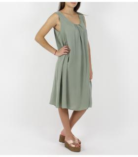 Φόρεμα μονόχρωμο FE1022