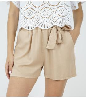 Σορτς γυναικείο cotton με κορδόνι FE3020