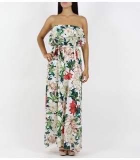 Φόρεμα μακρύ στράπλες FN17543