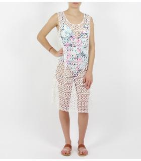 Φόρεμα πλεκτό παραλίας FN413