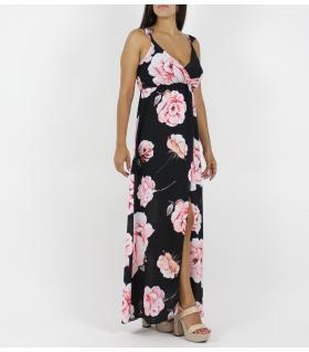 Φόρεμα μακρύ τριαντάφυλλα FN6310