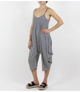 Ολόσωμη ζιπ κιλότ φόρμα FN7398