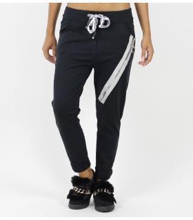 Παντελόνι φόρμα big zip FNW2813