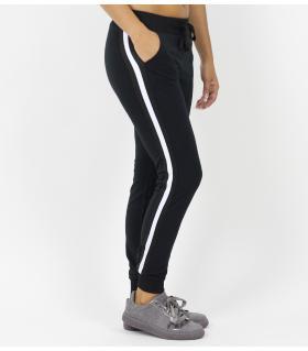 Παντελόνι φόρμας γυναικείο 3 stripes FNW703