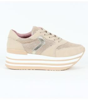 Δίπατα slip-on sneakers με κορδόνι JN4410