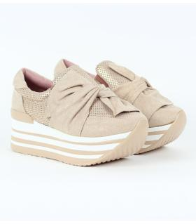 Δίπατα slip-on sneakers με φιόγκο JN4411