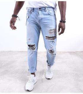Παντελόνι jean ανδρικό K014