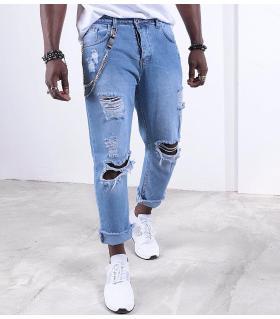 Παντελόνι jean ανδρικό K015