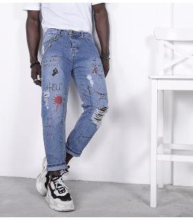 Παντελόνι jean ανδρικό K020