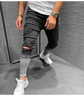 Παντελόνι jean ανδρικό double colour K099