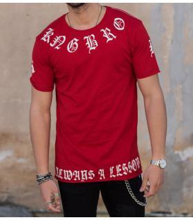 T-shirt ανδρικό -always a lesson- K1018