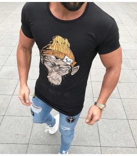 T-shirt ανδρικό king monkey K1034