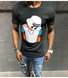 T-shirt ανδρικό -fashion 77- K1039