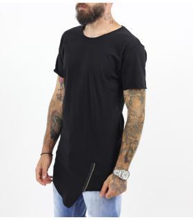 T-shirt ανδρικό zip K1041